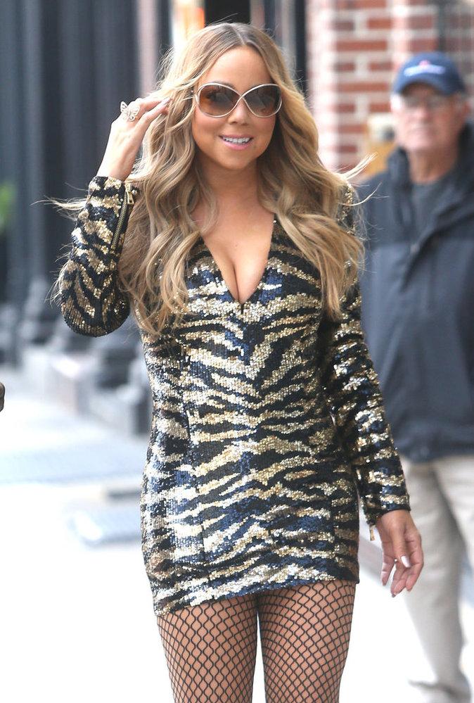 Mariah Carey à l'événement du groupe NBC Universal le 16 mai