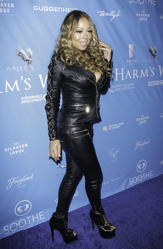 Mariah Carey à Los Angeles le 10 août 2016