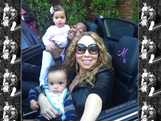Mariah Carey en famille...