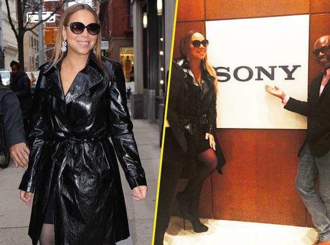 Mariah Carey : haut perchée, elle savoure son grand retour chez Sony !