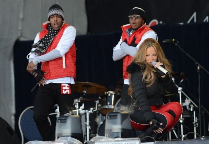 Mariah Carey en concert à Ischgl en Autriche le 30 avril 2012