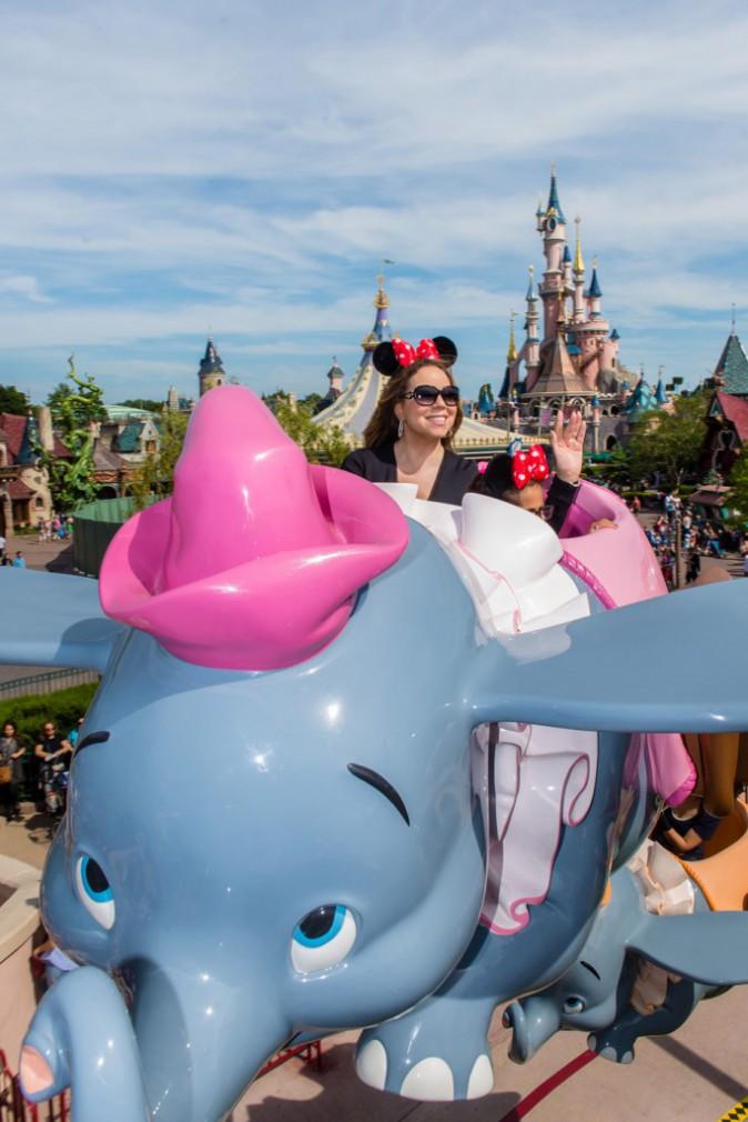 Mariah Carey à Disneyland Paris
