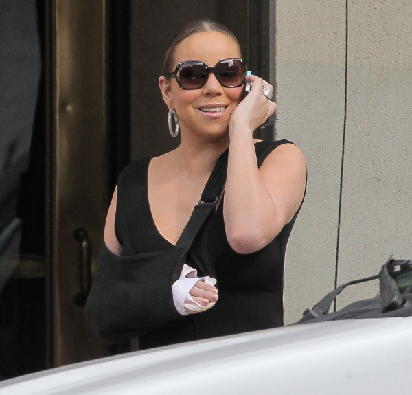 Mariah Carey à New York, le 31 juillet 2013.
