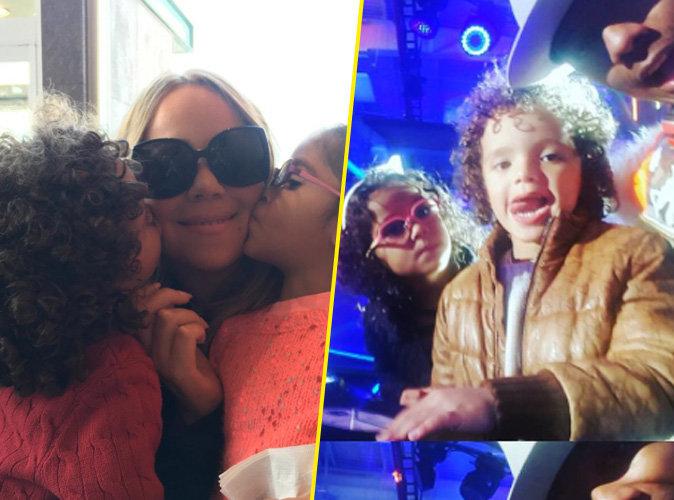 Mariah Carey : Monroe et Moroccan Cannon, stars des platines � 4 ans !