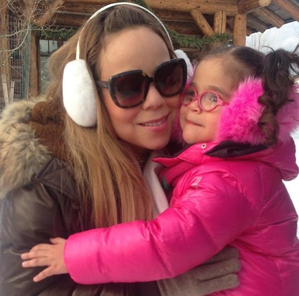 Mariah Carey et sa fille Monroe !