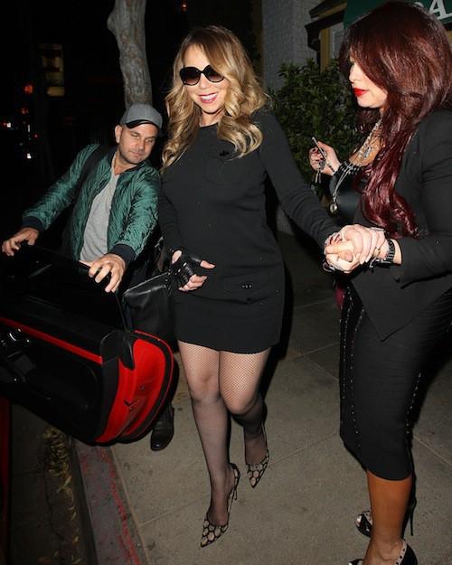 Photos : Mariah Carey : plus sobre, elle la joue sexy face aux accusation de Nick Cannon !