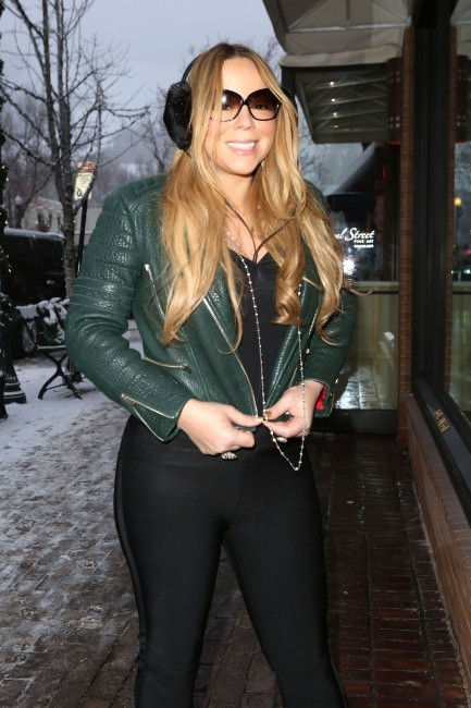 Mariah Carey le 24 décembre 2012 à Aspen