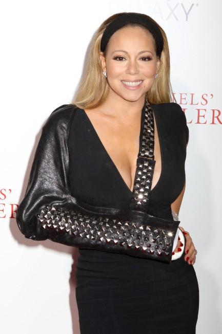 Mariah Carey lors de la première du film The Butler à New York, le 5 août 2013.