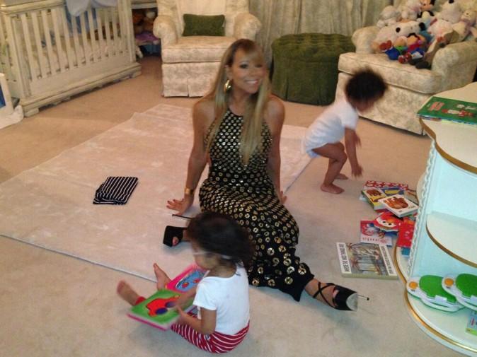 Photos : Mariah Carey : une working mummy qui sait jongler carrière et vie privée !
