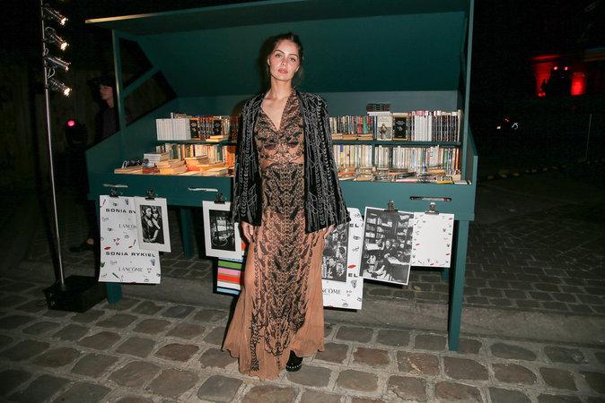 Marie-Ange Casta à la soirée Lancôme Sonia Rykiel à Paris