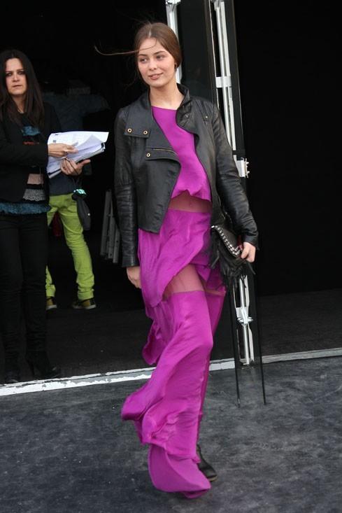 Super fashion, elle est déjà mannequin...