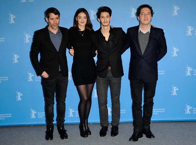 Jalil Lespert, Charlotte Le Bon, Pierre Niney et Guillaume Gallienne à Berlin le 7 février 2014