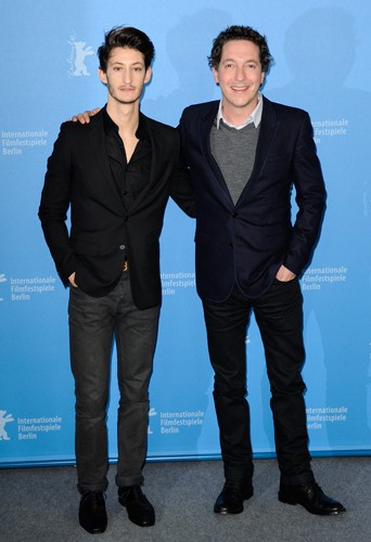 Pierre Niney et Guillaume Gallienne à Berlin le 7 février 2014
