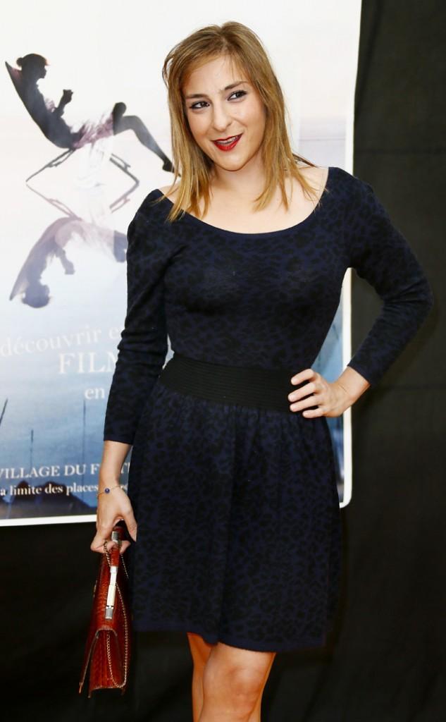 Marilou Berry le 13 septembre 2012 à La Rochelle