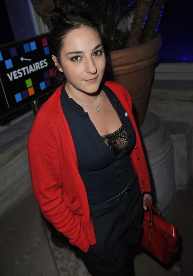 Marilou Berry lors de la soirée Nokia à Paris, le 27 novembre 2011.