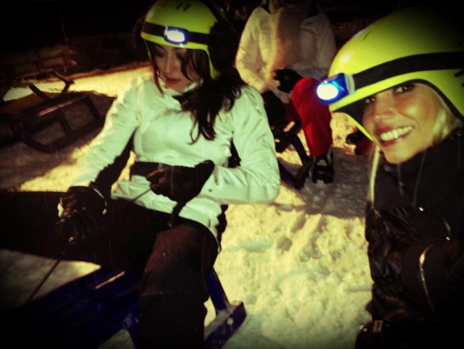 Photos : Marine Lorphelin, Alexandra Rosenfeld, Laetitia Bléger : des Miss à la montagne !