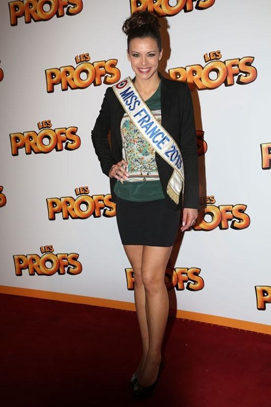 Marine Lorphelin à l'avant-première du film Les Profs au Grand Rex de Paris le 9 avril 2013