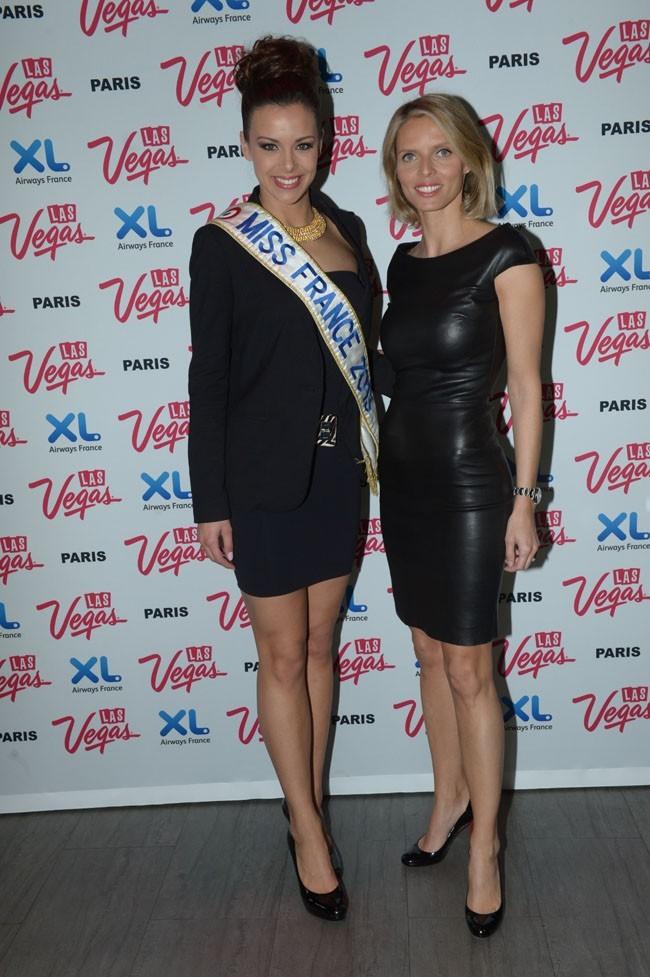Marine Lorphelin à la soirée Welcome to Fabulous Las Vegas à Paris le 9 avril 2013