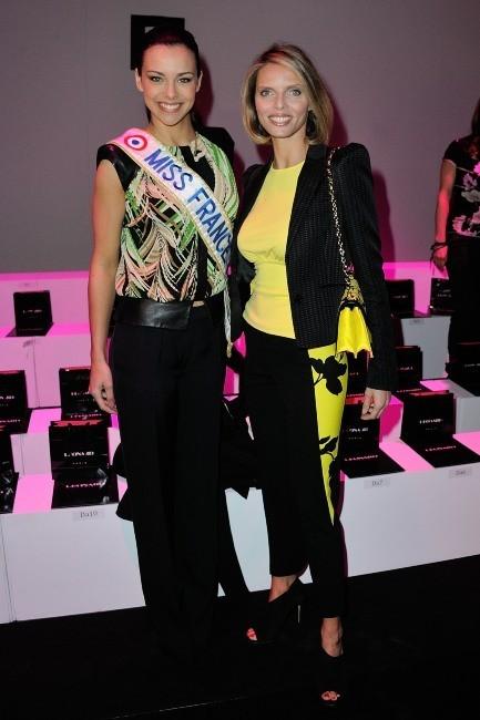 Marine Lorphelin et Sylvie Tellier le 4 mars 2013 à Paris