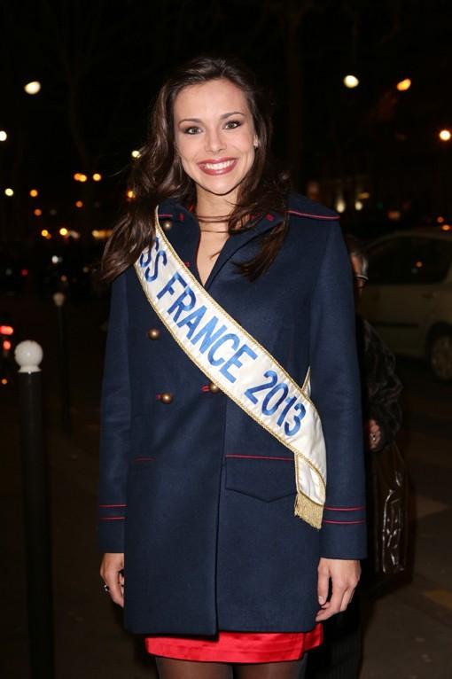 Marine Lorphelin au gala de l'association Solidarité Sida à Paris le 19 février 2013