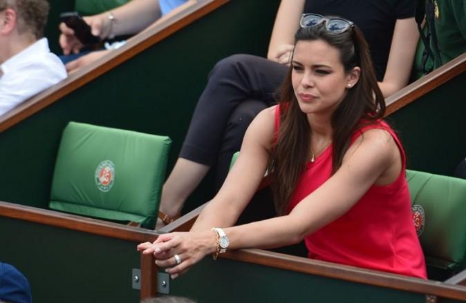 Marine Lorphelin à Roland-Garros le 6 juin 2013