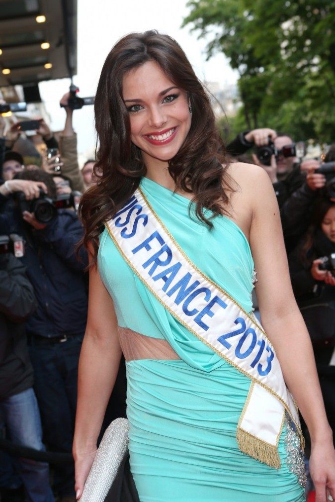 Marine Lorphelin lors du Global Gift Gala à Paris, le 13 mai 2013.