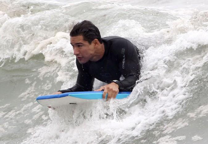 Mario Lopez à Malibu le 28 juillet 2013