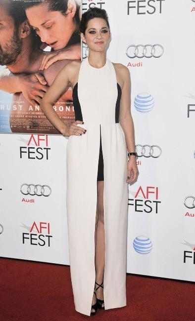 Marion Cotillard le 5 novembre 2012 à Hollywood