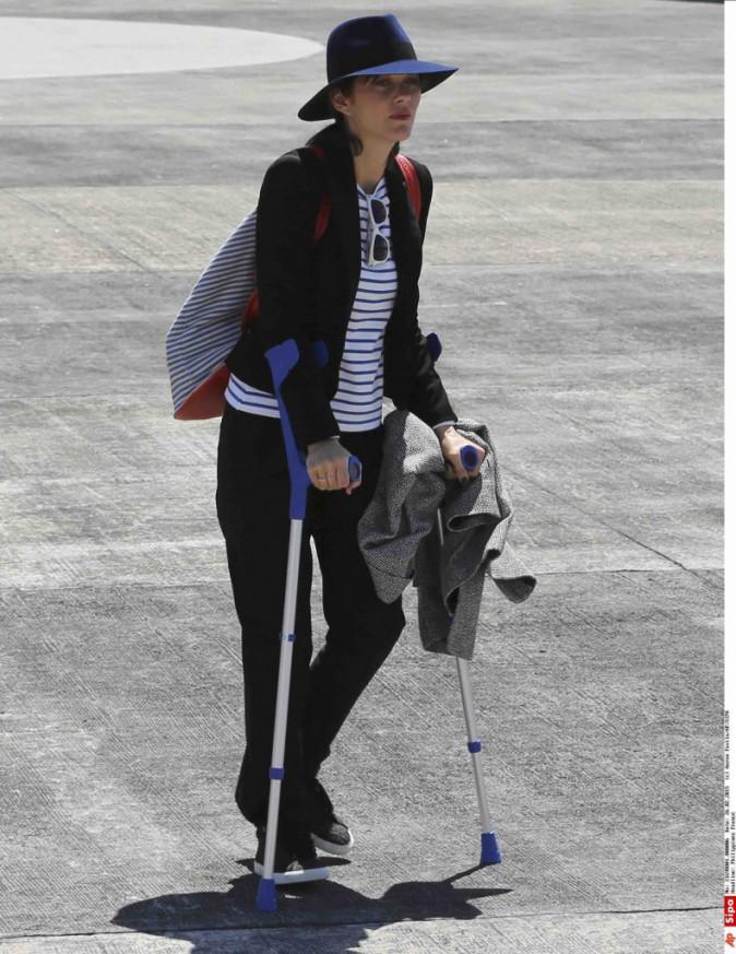 Marion Cotillard : aux Philippines avec François Hollande, elle fera un discours cet après-midi !