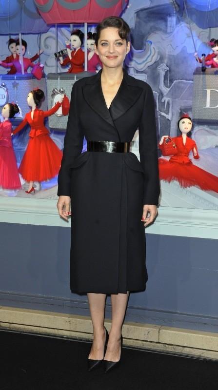 Marion Cotillard le 9 novembre 2012 à Paris