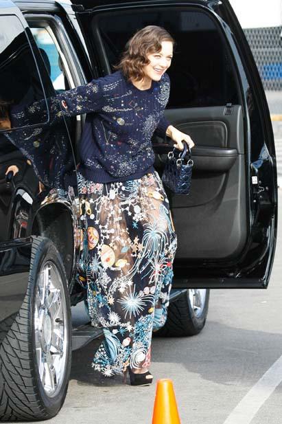 Marion Cotillard à Santa Monica le 21 février 2015