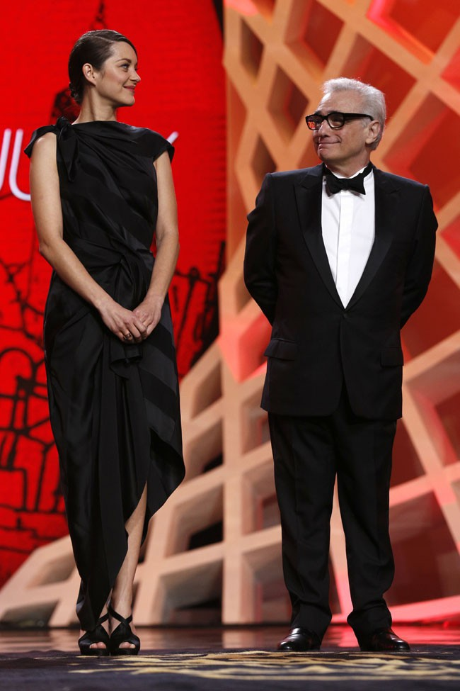 Marion Cotillard à la cérémonie de clôture du Festival du Film de Marrakech le 7 décembre 2013