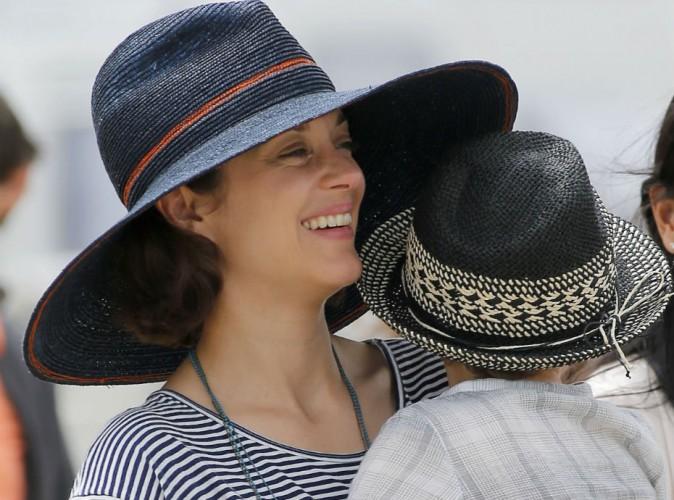 Marion Cotillard et Marcel : mignon duo qui soutient Guillaume Canet au jumping de Chantilly !