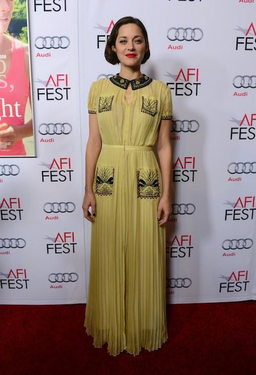 Photos : Marion Cotillard : icône rétro et glamour !