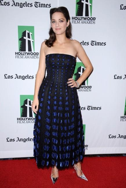 Marion Cotillard le 22 octobre 2012 à Los Angeles