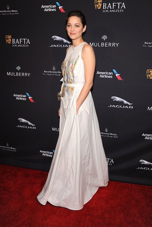 Photos : Marion Cotillard : reine des tapis rouges américains, en toute décontraction !