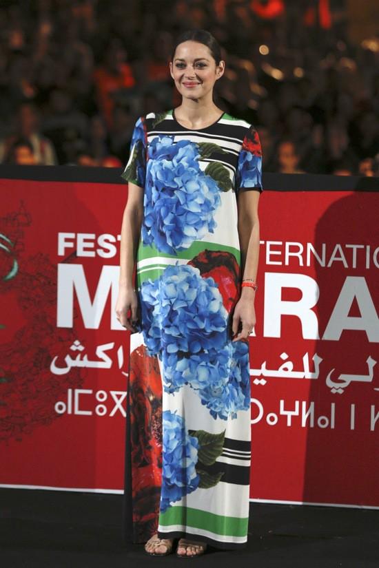"""Photos : Marion Cotillard : tout sourire pour la présentation de """"Public Enemies"""" !"""