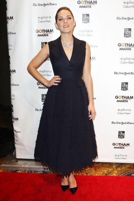 Marion Cotillard le 26 novembre 2012 à New York