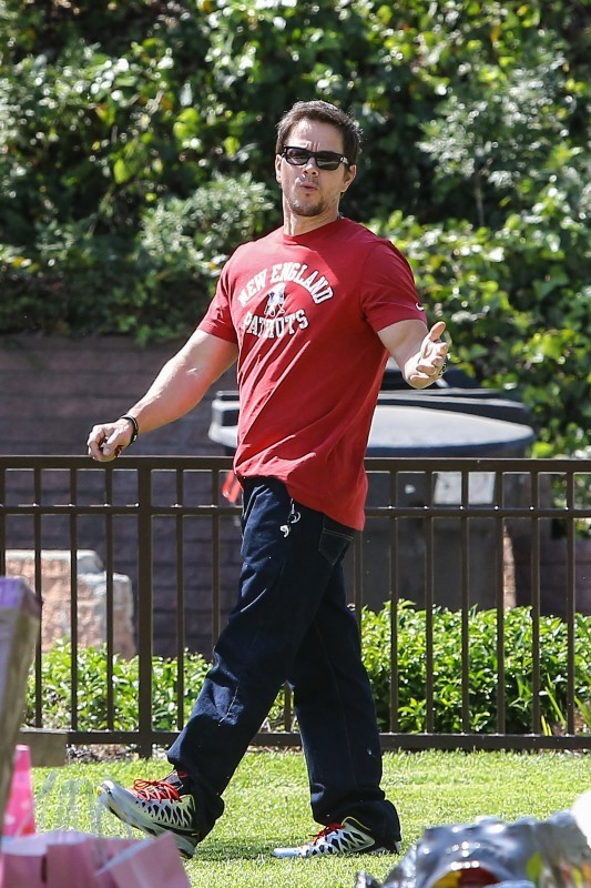Mark Walhlbergn, Beverly Hills, 26 avril 2013.