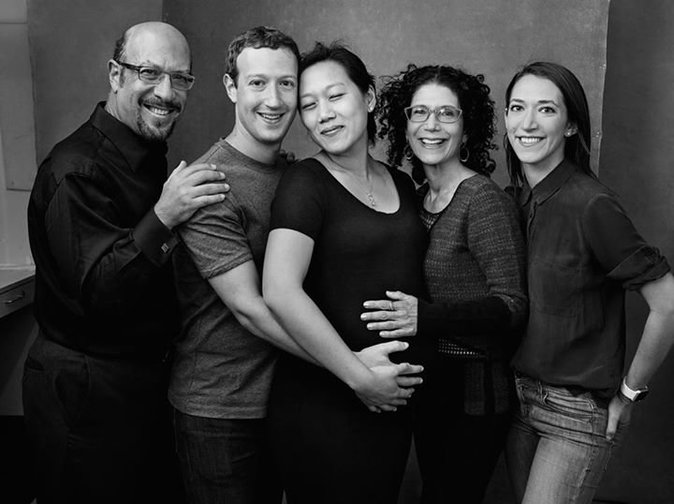 Mark Zuckerberg et sa famille