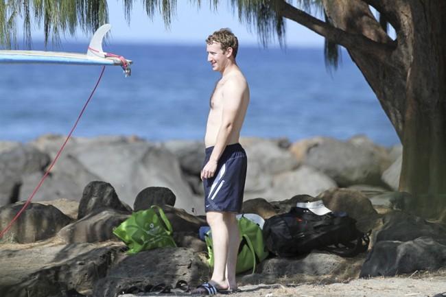 Mark Zuckerberg et Priscilla Chan, Maui, 30 décembre 2012