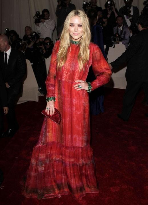 Mary-Kate Olsen au Met Ball, le 2 mai 2011 à New York.