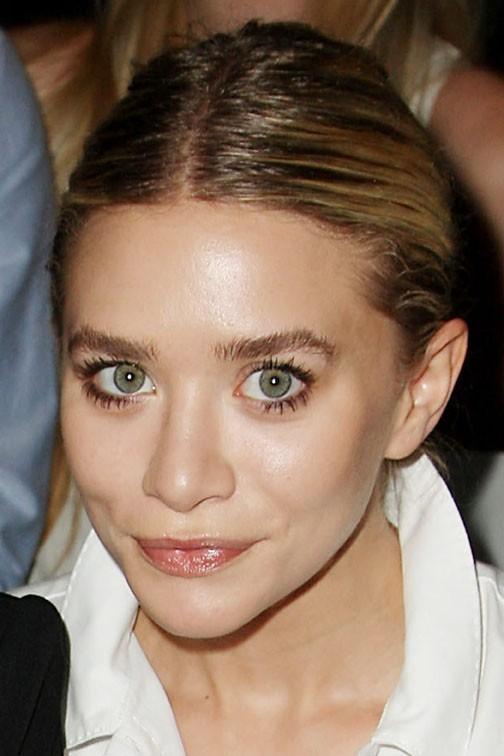 Ashley Olsen lors du défilé J. Mendel à New York, le 14 septembre 2011.