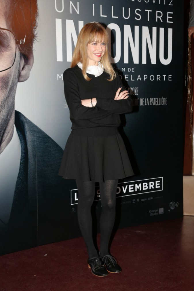 Marie-Josée Croze à Paris le 17 novembre 2014