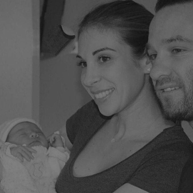 Fanny et Mathieu ont accueilli leur premier enfant en février 2016