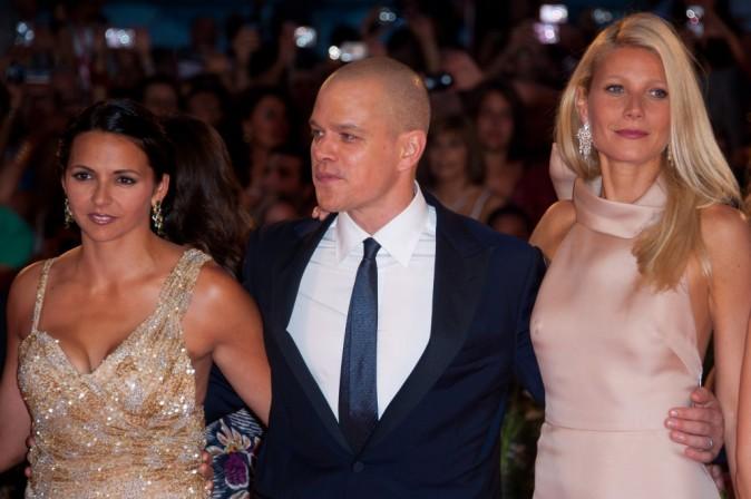 Sa femme d'un coté, Gwyneth de l'autre, Matt est prêt à combattre les virus !