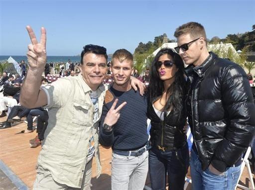 Dominique Damien Rehel, Benoît, Ayem et Matthieu Delormeau