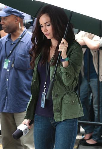Megan Fox à New-York le 22 juillet 2013
