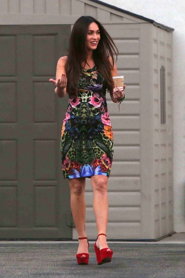 Megan Fox rayonnante à Los Angeles le 19 août 2012