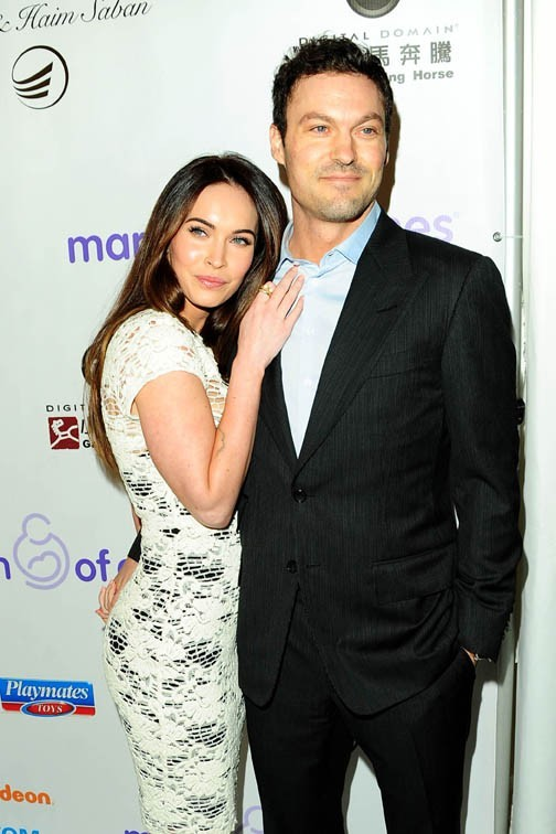 Megan Fox avec Brian Austin Green à Los Angeles le 7 décembre 2012